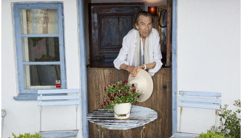 BODDE ALENE: Jahn Teigen bodde alene på herregården i Sverige fram til sin død. Foto: Tor Kvello/ Se og Hør