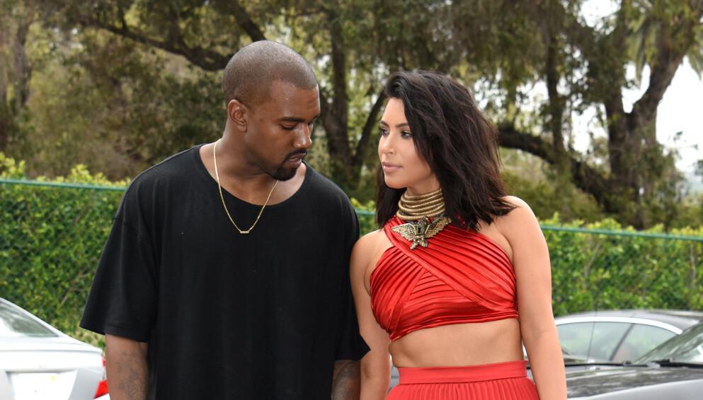STJERNEPAR: Kanye West og Kim Kardashian har vært gjennom et turbulent år. Foto: Pa Photos/Tammie Arroyo/NTB