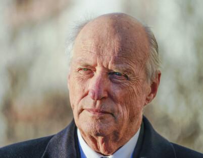 Image: Kong Harald sykmeldt