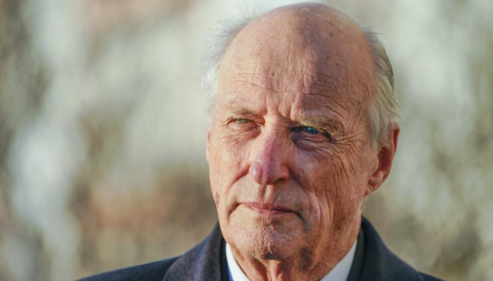 SYKMELDT: Kong Harald er sykmeldt ut januar. Foto: Lise Åserud / NTB