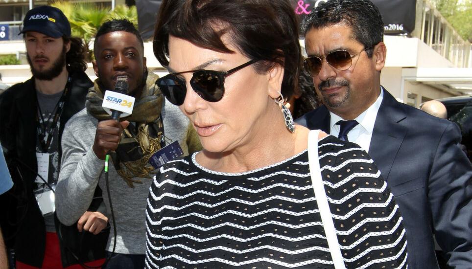 HARDE ANKLAGER: Kris Jenner står overfor et stort søksmål. Her avbildet i Cannes under filmfestivalen i byen i mai 2016. Foto: Beretta/ Sims/ REX/ NTB