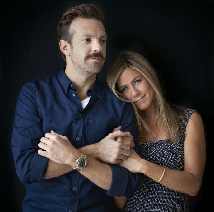 GODE VENNER: Jason og Jennifer har vært gode venner i mange år. Her sammen i 2013. Foto: Carlo Allegri / Invision / AP / NTB