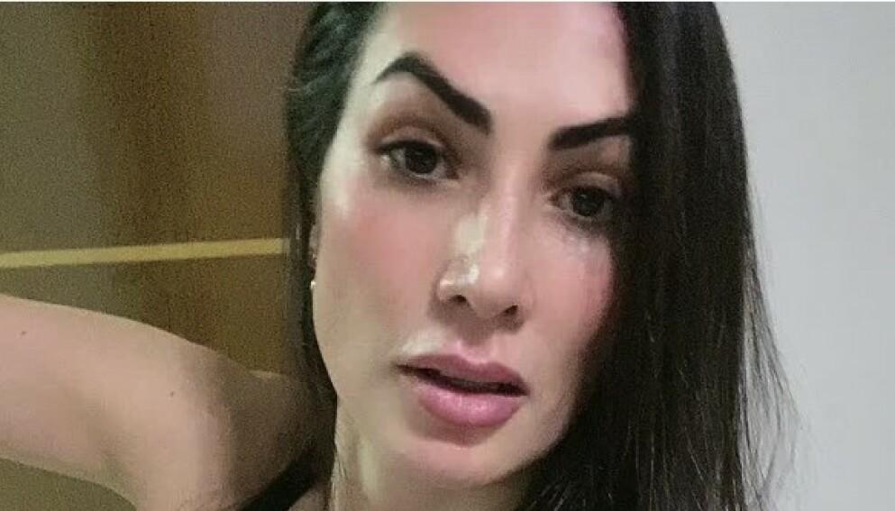 DREPT: Eliane Ferreira Siolin ble søndag forrige helg funnet drept utenfor sitt eget hus. Nå er ektemannen, som tok sitt eget liv, mistenkt for å stå bak. Foto: Skjermdump Tiktok / Eliane Siolin