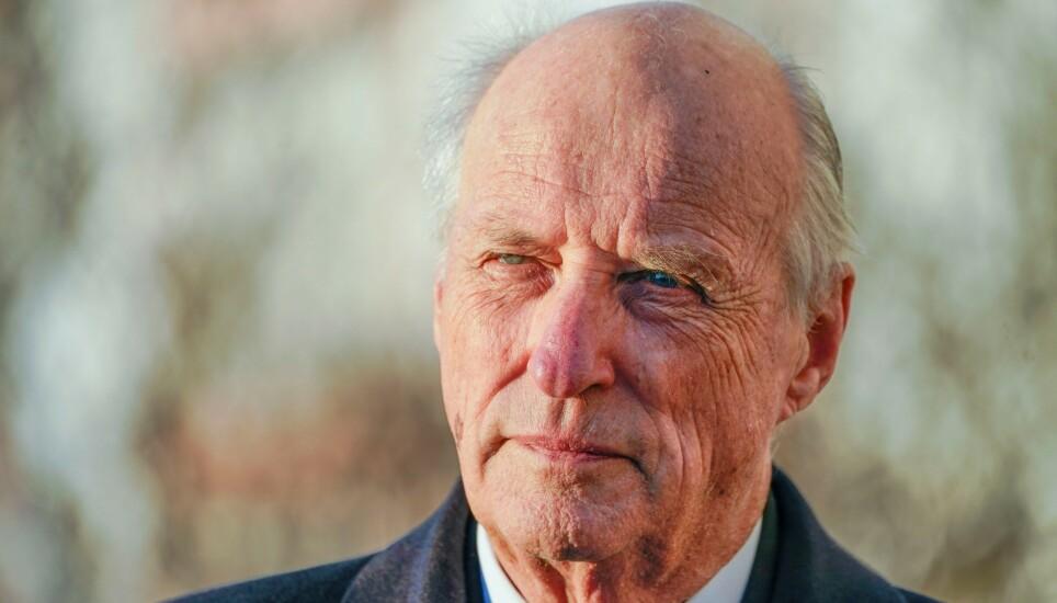 OPERERES: Kong Harald skal lørdag opereres. Foto: NTB
