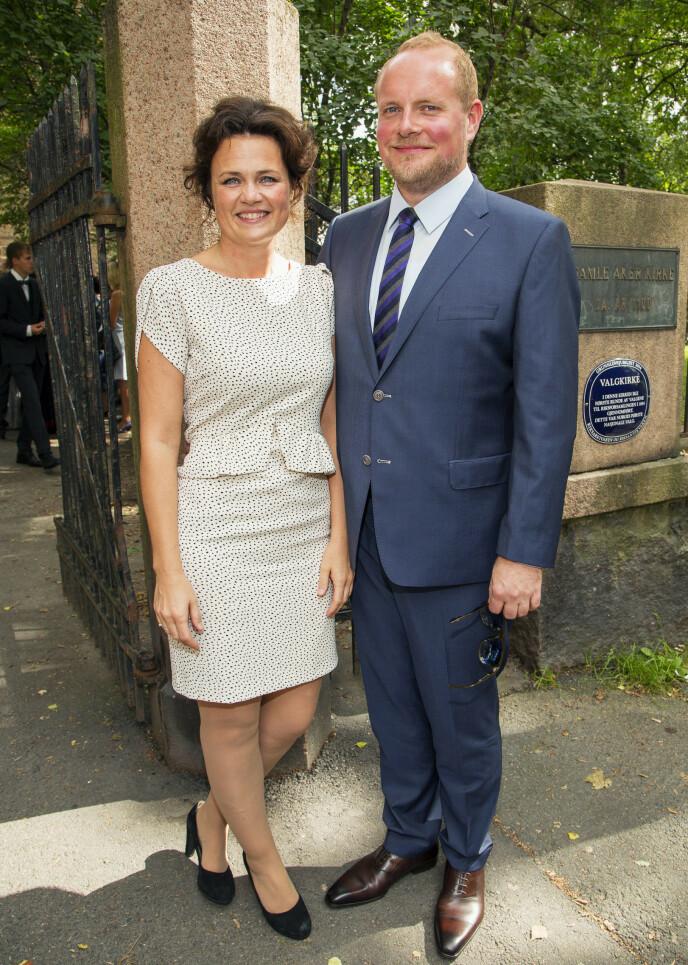 GODT GIFT: Steinar og Catrin Sagen giftet seg i 2014. Foto: Tor Lindseth / Se og Hør