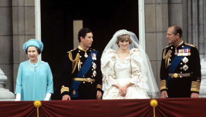 HISTORISK: Prins Charles får en ung prinsesse Diana i juli 1981. Foto: Shutterstock / REX / NTB