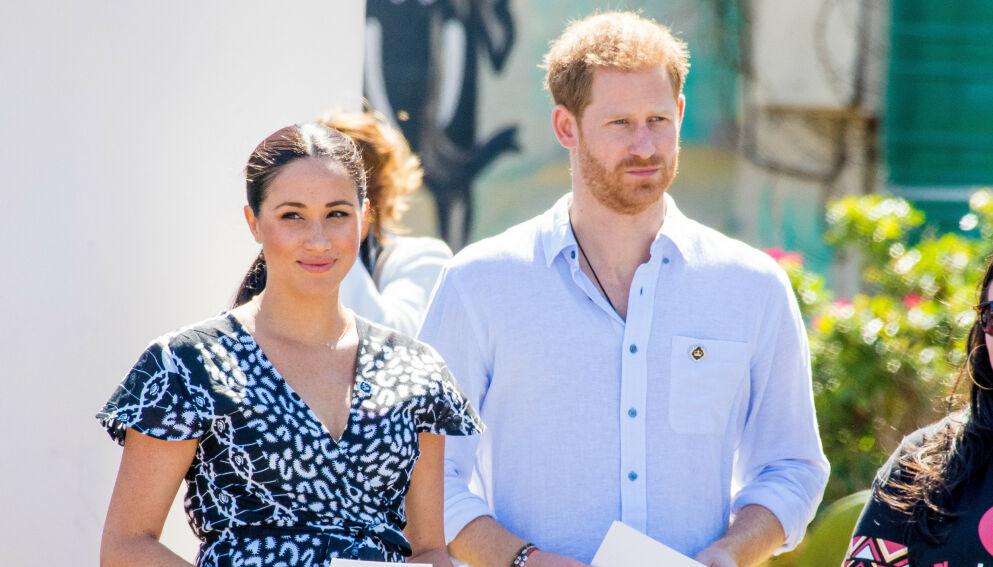 ENDRING: Ifølge dokumenter den britiske avisen The Sun har fått tilgang på, skal en navneendring for hertuginne Meghan og prins Harry ha blitt avslørt. Foto: Splash News / NTB