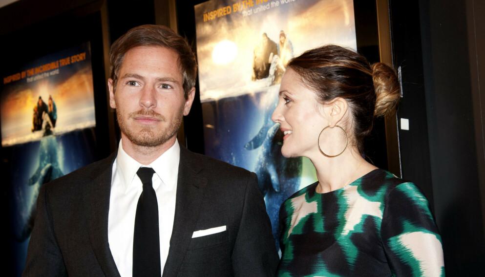 LYKKE: Will Kopelman var tidligere gift med skuespiller Drew Barrymore (til høyre), men har nå forlovet seg med sin nye kjæreste. Foto: Patsy Lynch / REX / NTB