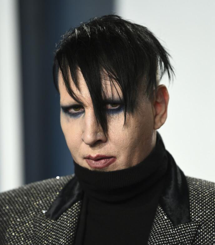SJOKKANKLAGER: Marilyn Manson mener at alle hans intime forhold alltid har foregått med samtykke med likesinnede partnere. Foto: Evan Agostini / Invision /AP / NTB