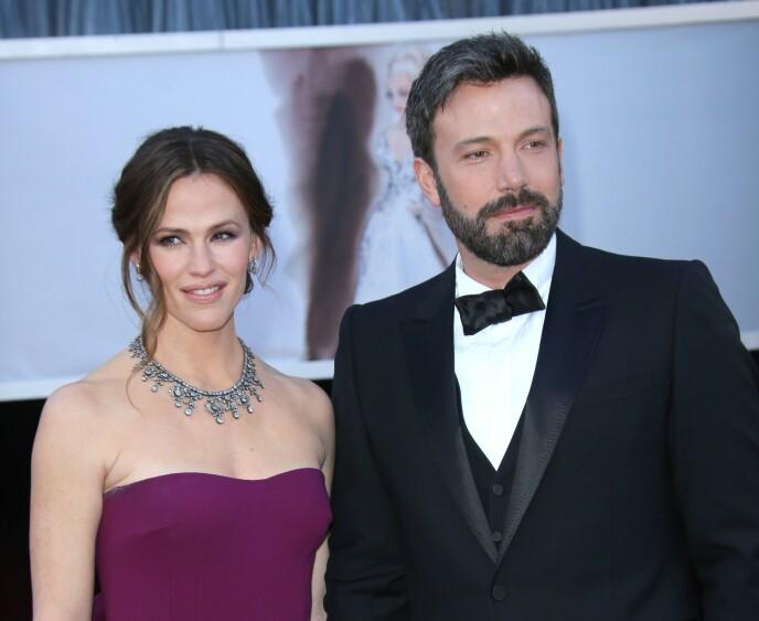 DEN GANG DA: Jennifer Garner og Ben Affleck i forbindelse med Oscar-utdelingen i 2013. Foto: Jim Smeal /BEI /REX / NTB