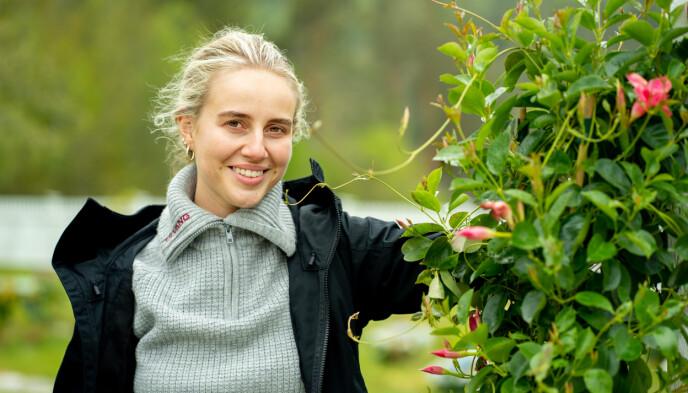 BORTE FRA KJÆRESTEN: Anniken Jørgensen bekrefter overfor Se og Hør at hun ble singel rett etter «Farmen kjendis». Foto: Alex Iversen / TV 2