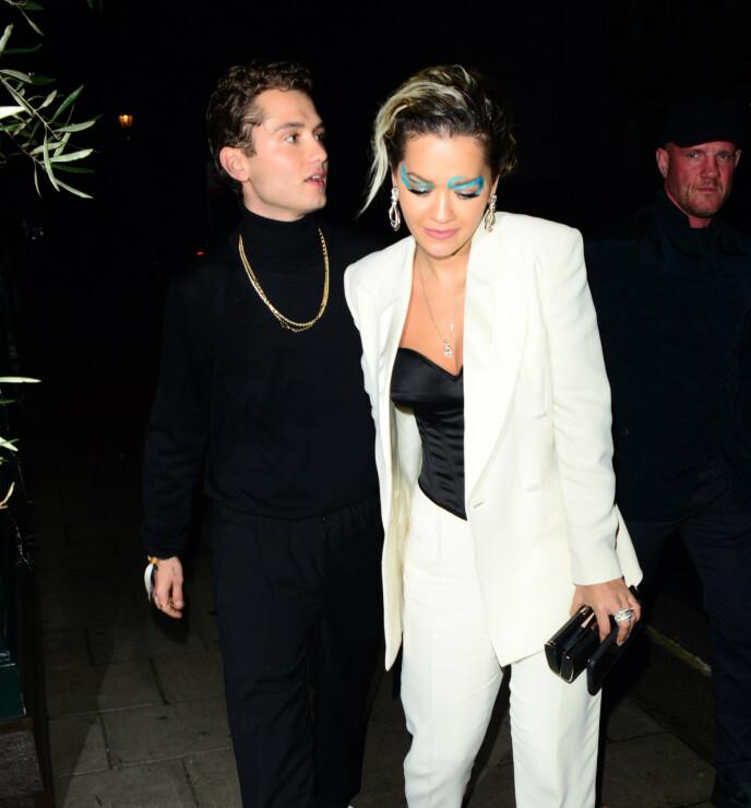KORTVARIG: Forholdet mellom Rita Ora og Rafferty Law varte ikke mer enn tre måneder. Foto: NTB