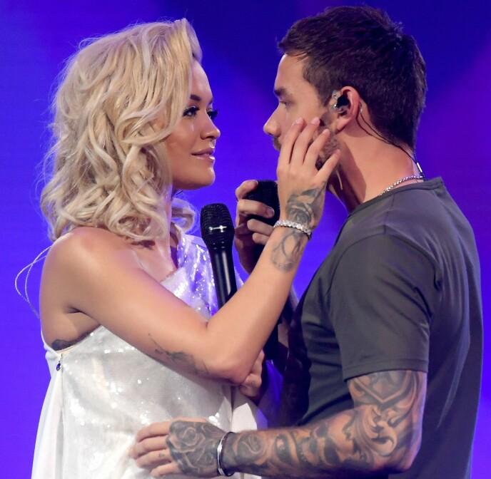 TREKANTDRAMA: Flere spekulerte på om en duett mellom Rita Ora og Liam Payne ødela forholdet til sistnevnte. Foto: David Fisher / REX / NTB