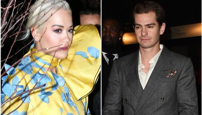 KNUST: Rita Ora datet Andrew Garfield i en periode fra 2018 til 2019. Foto: NTB