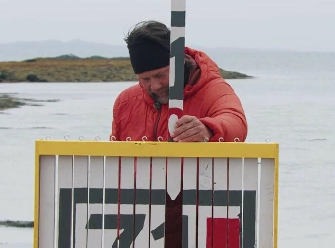 OFRET SEG: Per Heimly ventet med å legge den siste brikken på plass med vilje. Foto: TVNorge