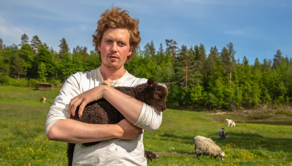 POPULÆR: Öde Nerdrums popularitet har økt i takt med de gangene han har vært på tv i «Farmen kjendis». Foto: Alex Iversen / TV 2