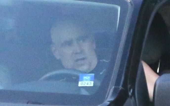 UGJENKJENNELIG: Man skal se godt etter for å oppdage at dette bildet viser Colin Farrell. Foto: Backgrid / NTB