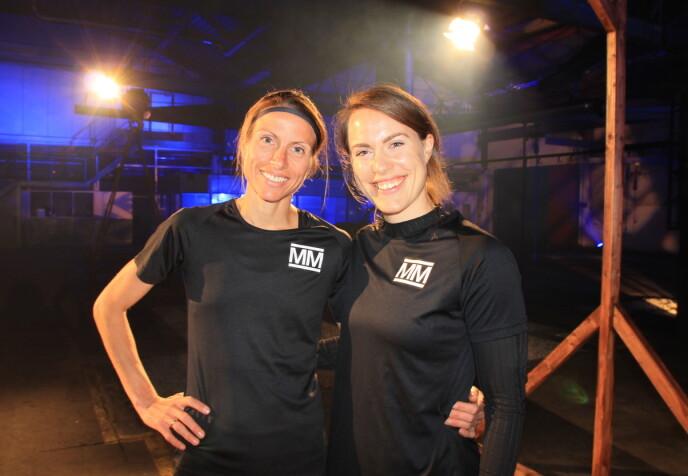 UTE: Anne Margrethe slo Synnøve ut av konkurransen fredag. Foto: Sunniva Luca Veliz Pedersen / Rubicon TV / NRK