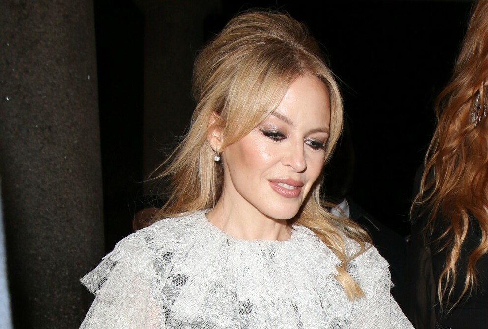 IKKE FORLOVET: Kylie Minogues talsperson slår tilbake mot forlovelsesryktene. Foto: Shutterstock / Rex / NTB