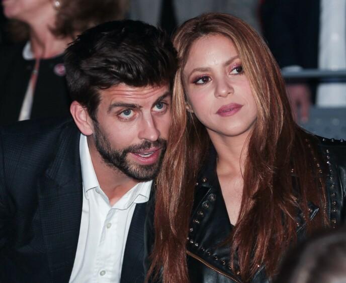 KOS OG KLEM: Shakira har to sønner sammen med fotballspiller Gerard Piqué. Foto: Alberto Simon / Shutterstock / NTB