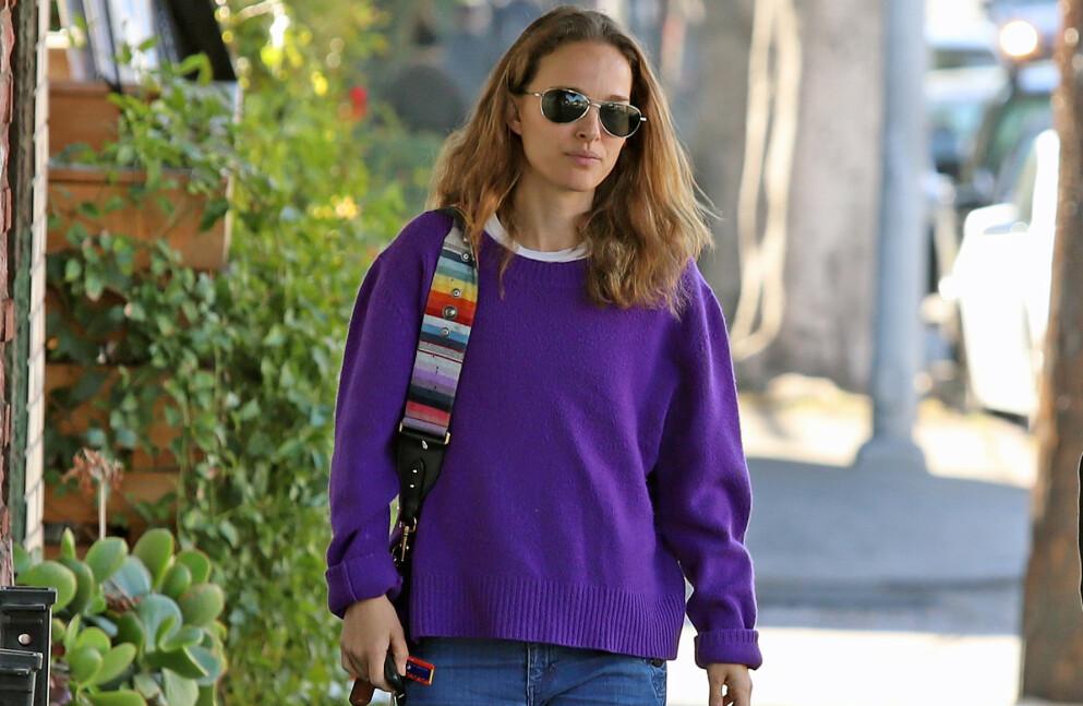OPPGITT: Skuespiller Natalie Portman er ikke fornøyd etter at Page Six hevdet at hun venter barn. Foto: Splash News / NTB