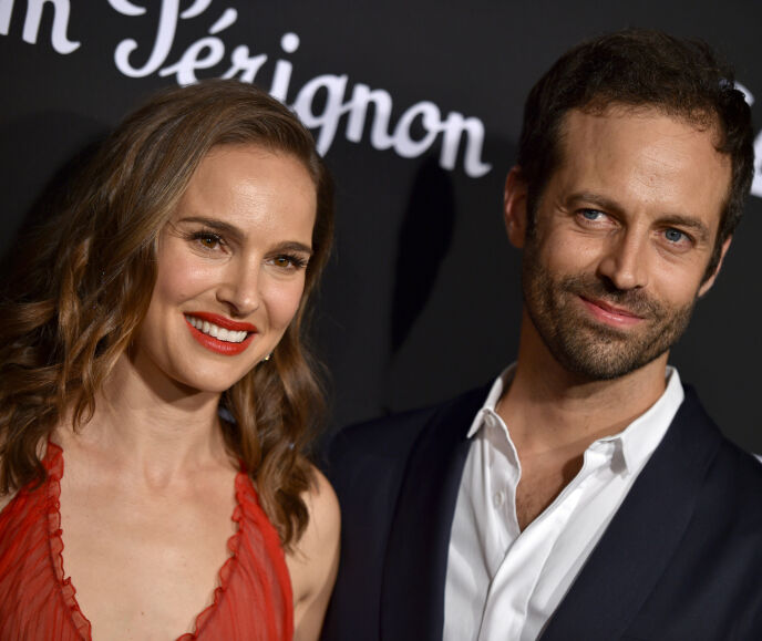 GODT GIFT: Natalie Portman og Benjamin Millepied har vært gift siden 2012. Her avbildet i 2018. Foto: Hahn Lionel / Pa Photos / NTB