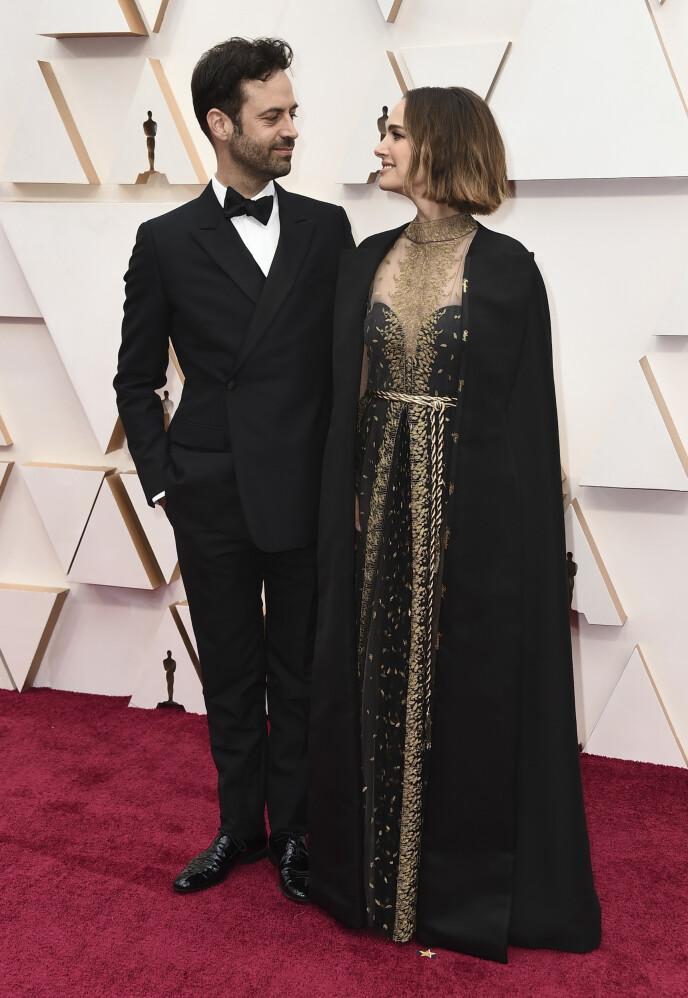 JOBBET SAMMEN: I 2018 fikk Natalie Portman muligheten til å jobbe med ektemannen igjen, noe hun syntes var veldig stas. Foto: Jordan Strauss / Invision / NTB