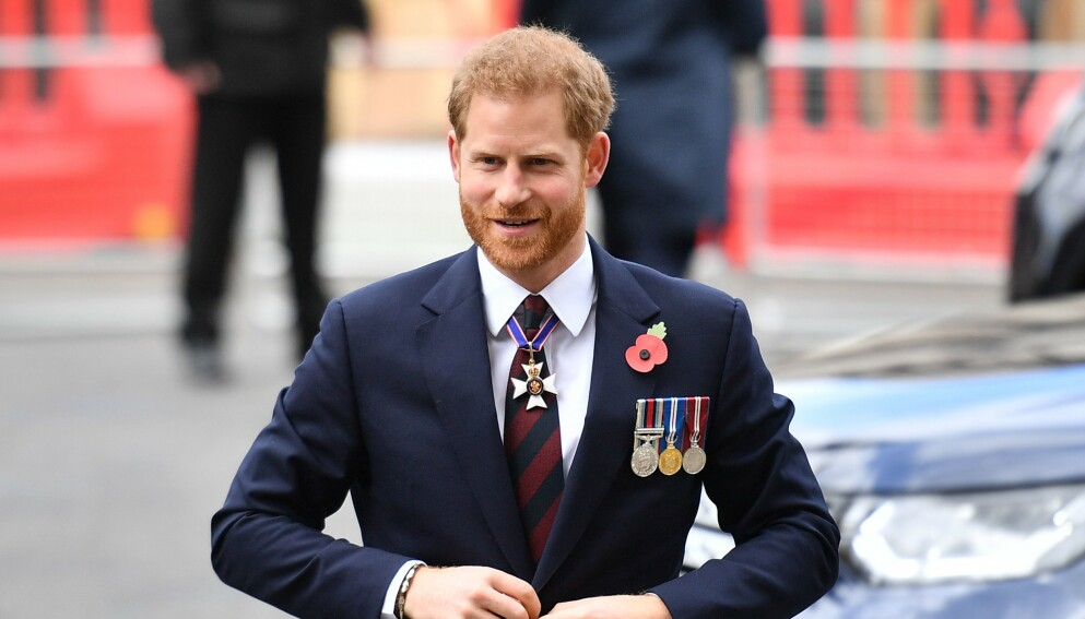 KARAOKE: Prins Harry skal gjeste det velkjente innslaget «Carpool Karaoke» med James Corden. Foto: Daniel Leal-Olivias / AFP / NTB