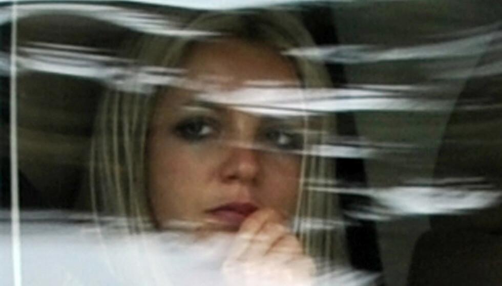 HÅPER PÅ SEIER: Britney Spears har i lang tid forsøkt å få sin egen far fjernet som verge. Foto: Gabriel Bouys / AFP)