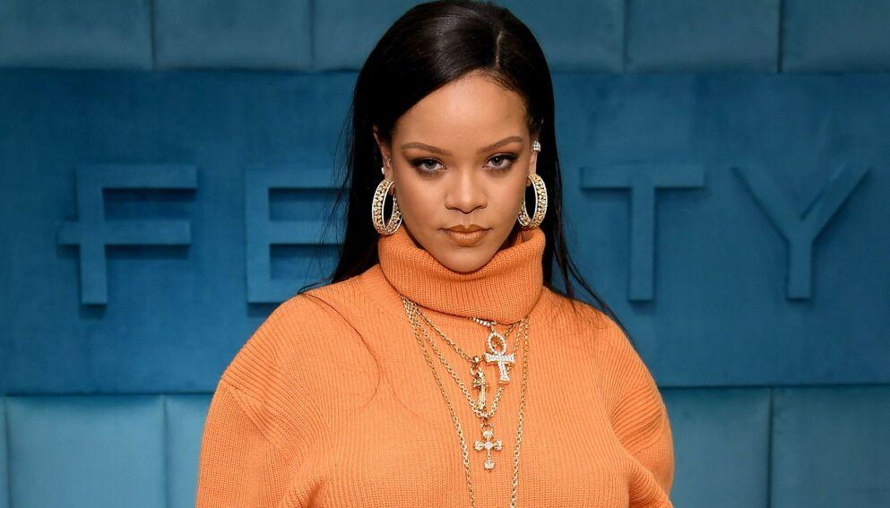 FERDIG: Luksusgruppen LVMH skal ikke lenger satse på artist Rihannas luksusklær. Foto: Dimitrios Kambouris/ Getty Images/ AFP/ NTB