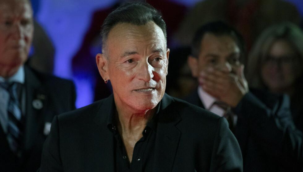 SIKTET: Bruce Springsteens kjøretur i november kan få store konsekvenser. Foto: Chris Young/AP/NTB