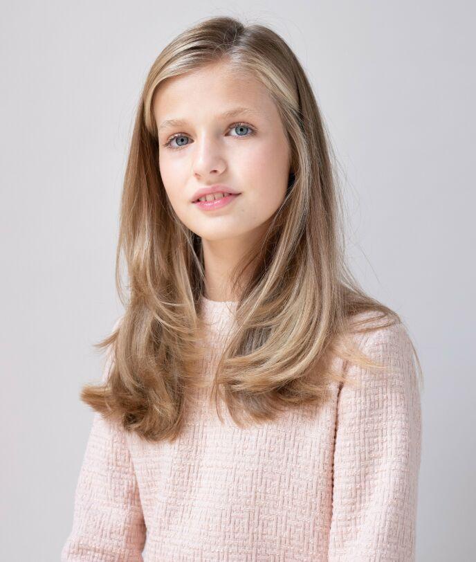 BORTE I TO ÅR: Prinsesse Leonor skal tilbringe to år i Wales for å fullføre videregående. Foto: Shutterstock Editorial / NTB