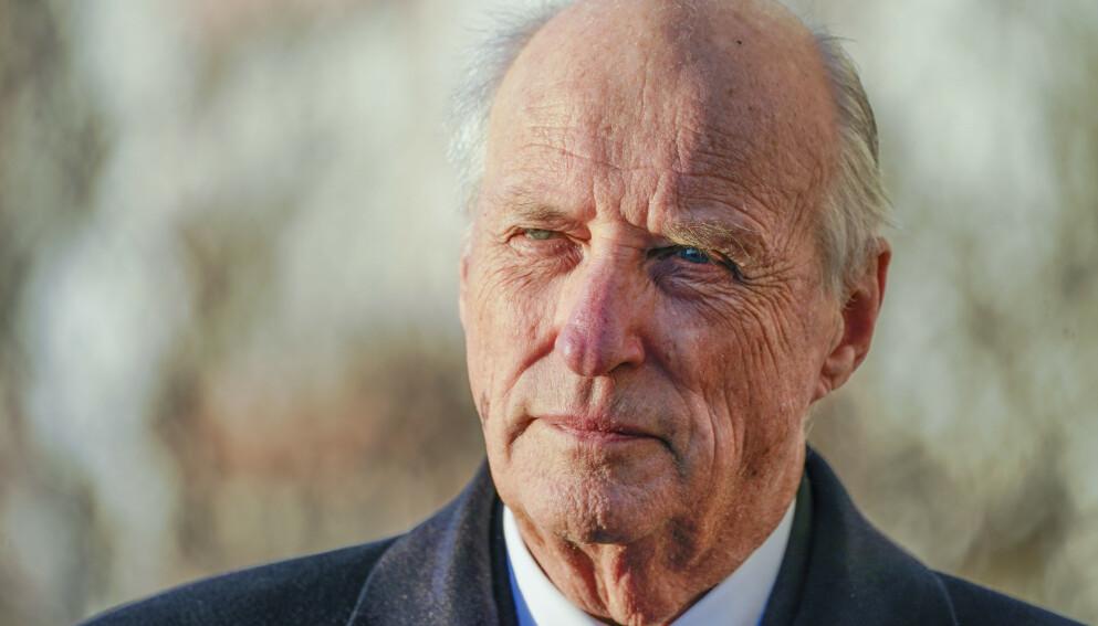 FORLENGET: Kong Harald vil være sykmeldt til og med 14. mars. Foto: Lise Åserud / NTB