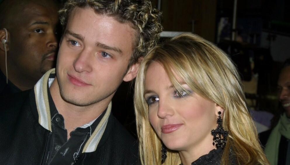 BEKLAGER. Justin Timberlake satte Britney Spears i et dårlig lys etter bruddet. Her fra 2002. Foto: Matt Baron/ BEI/ NTB