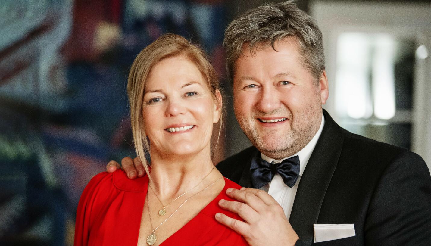 BJARNES KLIPPE: – Hun betyr alt, sier Bjarne om kona Lise Greftegreff. FOTO: Anders Martinsen