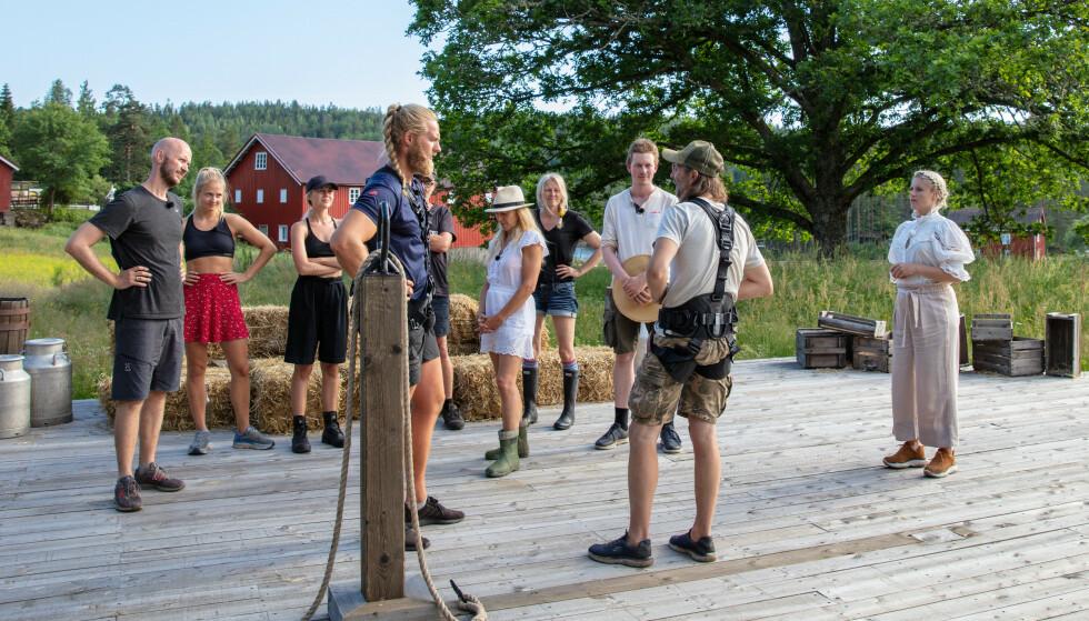NEKTET Å STILLE: Thomas Felberg ville ikke møte sin motstander i tautrekking og dro heller hjem. Foto: Alex Iversen / TV 2