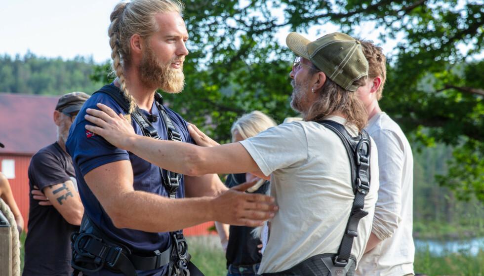 AVBLÅST: Thomas Felberg nektet gå i kamp med Lasse Matberg. Dermed er det Matberg som er videre til den store finaleuka av «Farmen kjendis». Foto: Alex Iversen / TV 2