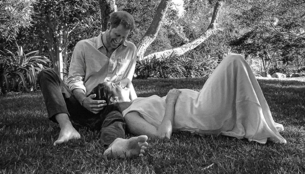 UHELDIG: Det autralske ukebladet New Idea hevdet at det var brudd mellom hertuginne Meghan og prins Harry, bare timer før paret slapp nyheten om at de venter sitt andre barn. Foto: Misan Harriman/ Reuters / Handout / NTB