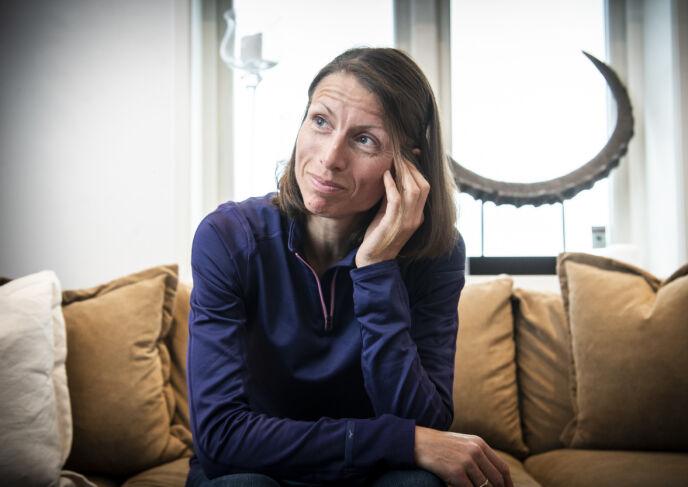 SLÅTT UT: Se og Hør møtte Anne Margrethe kort tid etter at hun var slått ut av konkurransen. Foto: Lars Eivind Bones / Dagbladet