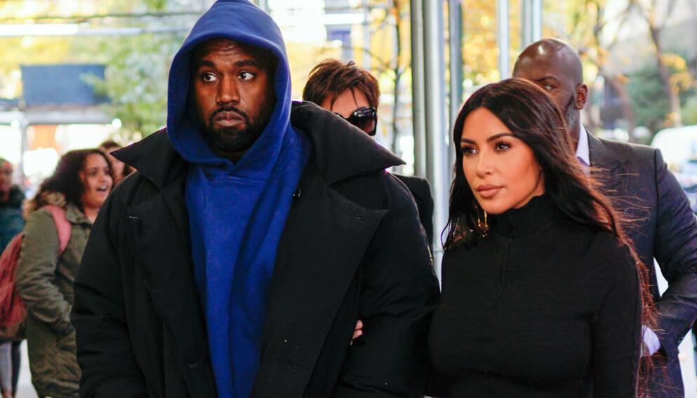 VEKKER OPPSIKT: Kim Kardashian West delte en kryptisk melding under et av sine siste Instagram-bilder. Foto: Splash News/ NTB
