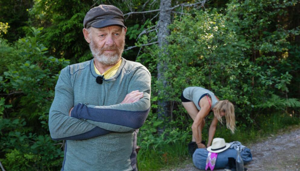 TRAKK SEG: Espen Thoresen valgte å trekke seg i tirsdagens «Farmen kjendis». Det skulle egentlig Öde Nerdrum også, men planen gikk i vasken. Foto: Alex Iversen / TV 2