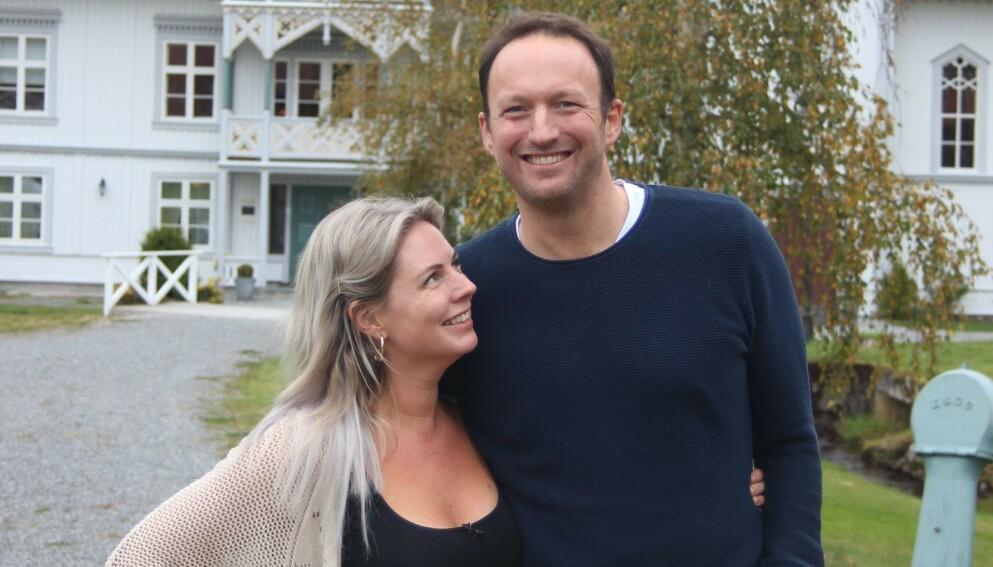 BLE FORELDRE: Realityparet Else Strøm Larsen og Peter Theolin har fått sitt første barn sammen. Foto: Kristin Stavåsen / TV 2