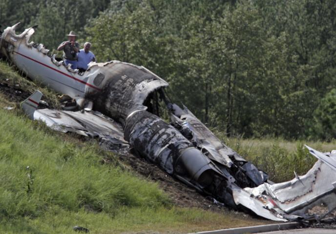 TRAGEDIE: 2008 er et år Travis Barker aldri vil glemme. Da var han involvert i en dramatisk flyulykke hvor fire personer mistet livet. Foto: Brett Flashnick / AP / NTB