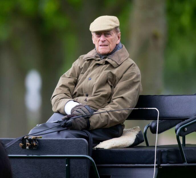 PENSJONIST: Prins Philip pensjonerte seg fra sine kongelige plikter i 2017. Her avbildet to år seinere. Foto: REX / NTB