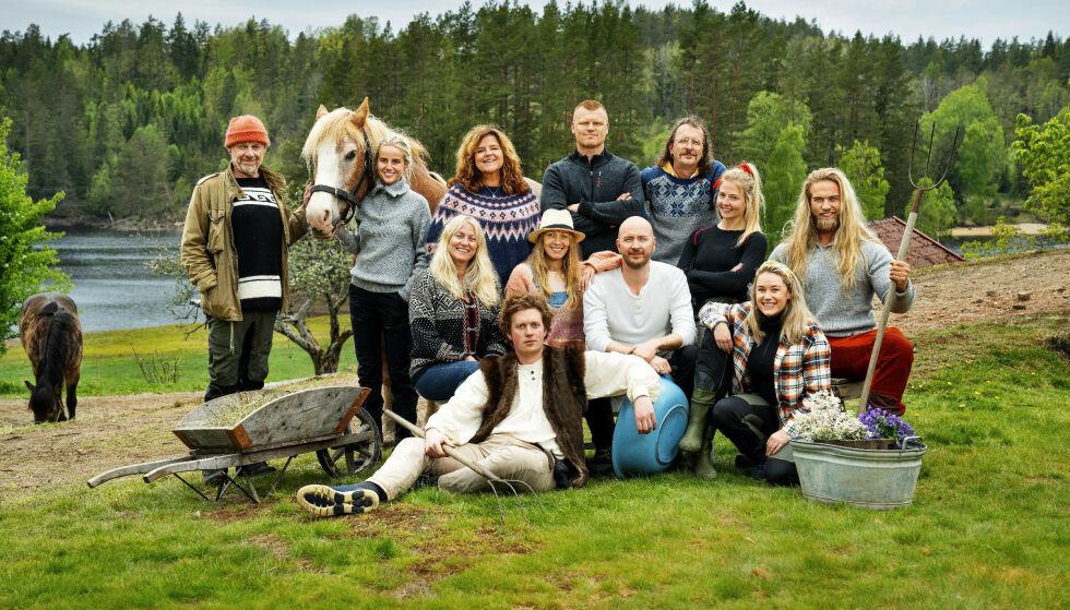 KRANGLE-TV: Det har vært høy tempertaur i årets «Farmen kjendis», i alle fall om vi skal tro tv-bildene. Flere av deltakerne mener det har gått særlig utover én av dem. Foto: Espen Solli / TV 2
