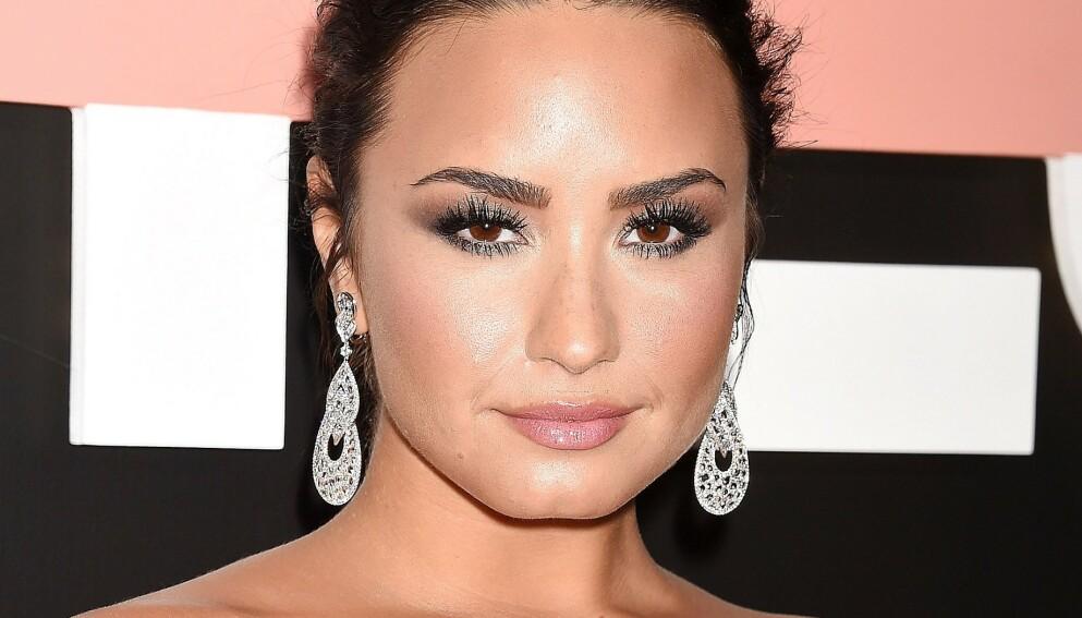 BRUTALT ÆRLIG: Demi Lovato ble hastet til sykehus i 2018. Nå forteller hun mer detaljert om hendelsen. Foto: Broadimage/REX/NTB