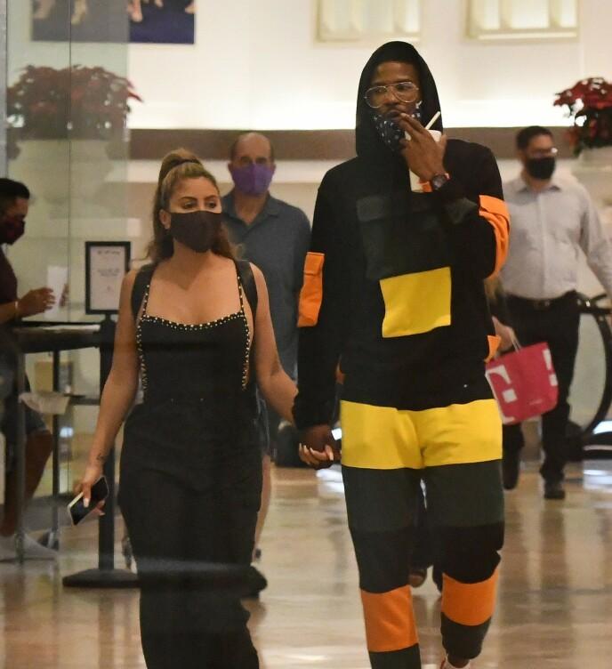 SKANDALE: Flere så rødt da bilder av Larsa Pippen og basketballspiller Malik Beasley dukket opp i mediene. Foto: MEGA / NTB