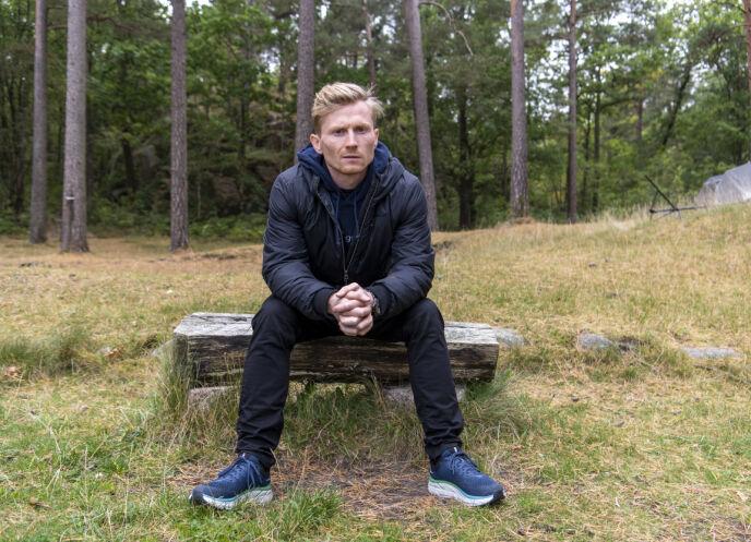 POSITIVE REAKSJONER: Magnus Midtbø forteller at responsen på deltakelsen har vært svært positive. Det har de også vært etter at han fortalte at han har slitt med spiseforstyrrelse. Foto: Lars Eivind Bones / Dagbladet