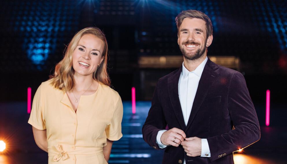 SNIPP, SNAPP, SNUTE: Blipp forsvinner ut av «Senkveld», men det er fremdeles ikke avklart hva som vil skje med programmet. Foto: Helene Kjærgaard / TV 2