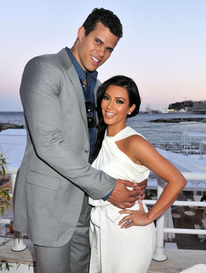 GIFT: Kris Humphries og Kim Kardashian var gift i 72 dager. Foto: Alan Davidson / REX / NTB